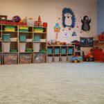 herna školky nový koberec