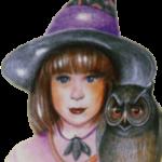 malá čarodějnice a sova